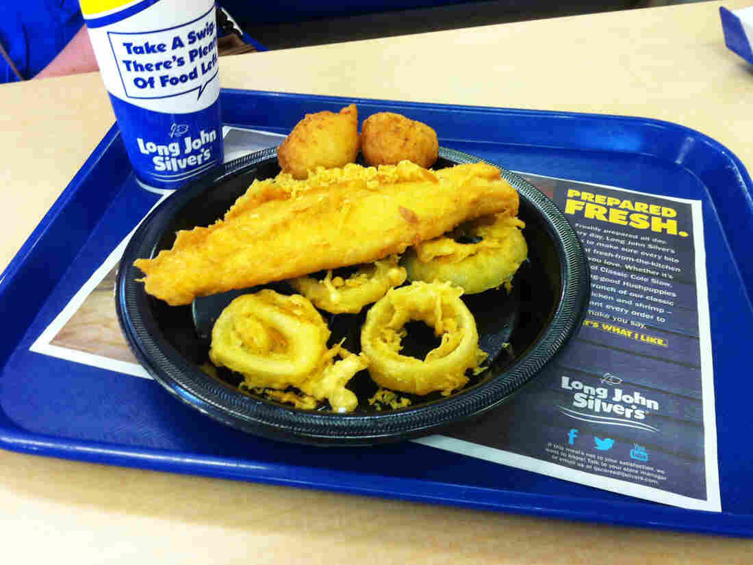 Long John Silver's Big Catch platt