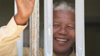 Near the end of his 27 years in prison, Nelson Mandela was taken to secret meetings with government officials and for drives around Cape Town. Here, he returned to his Robben Island prison cell for a visit in 1994, shortly before he became South Africa's first black president.