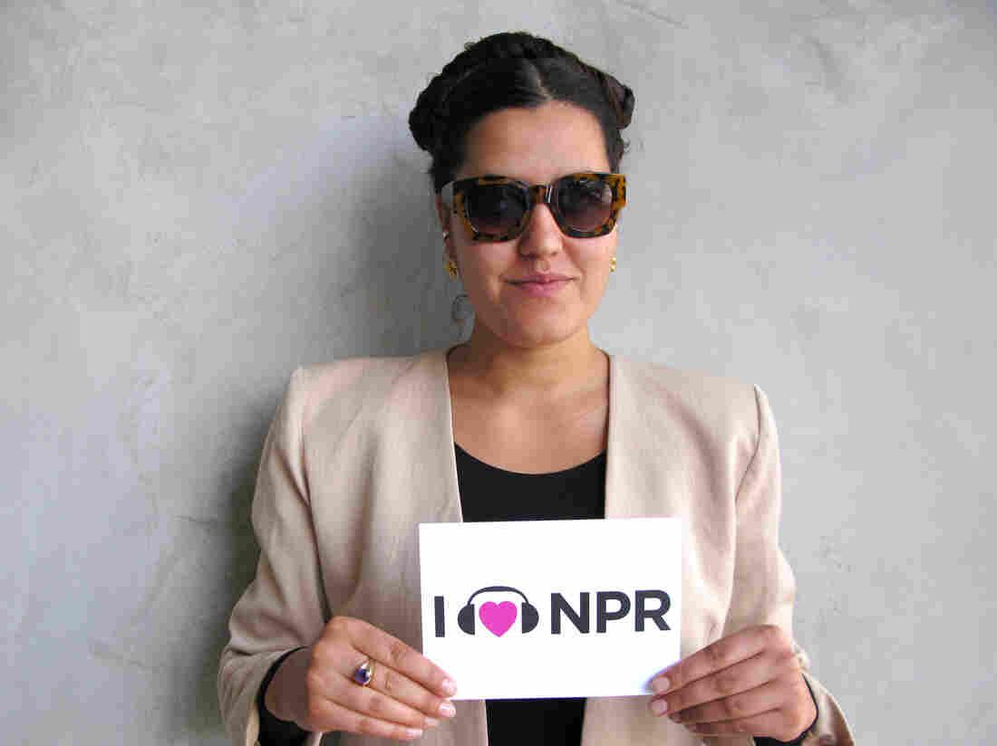 Coco O. at NPR West.