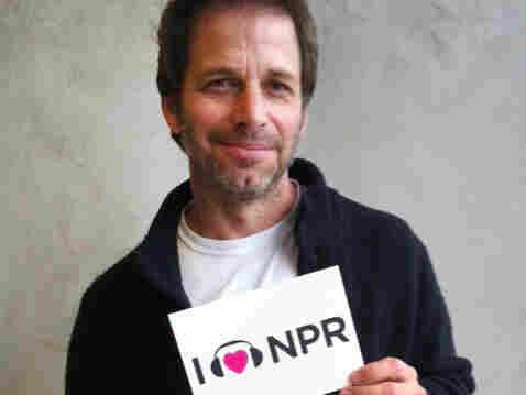 Zack Snyder at NPR West.