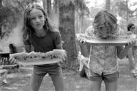 Watermelon-eating contest, White Springs, Fla., July 4, 1983