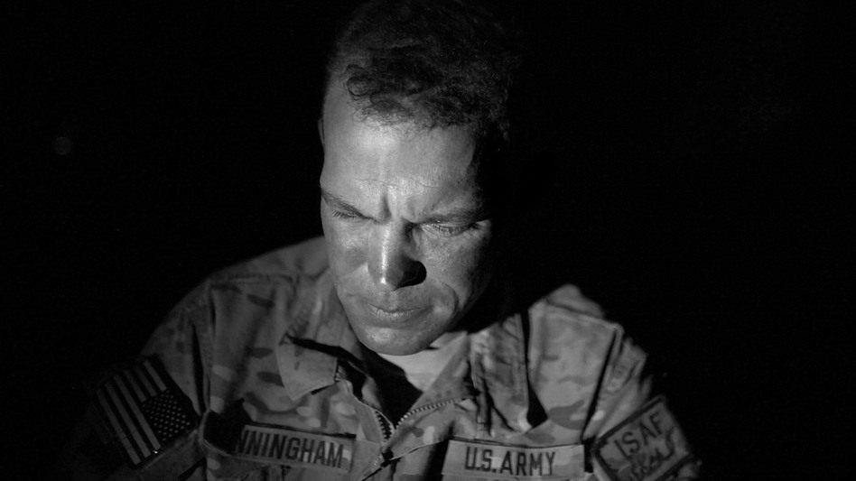 Sgt. Chris Cunningham has served five tours in Afghanistan, surviving some of the most horrific fighting of the past decade. Cunningham is now working in something of a safe haven at Combat Outpost Arian in Ghazni province. (NPR)