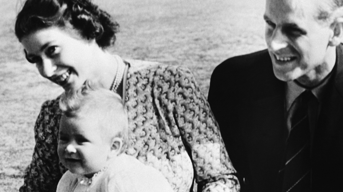 Royals In Nappies A Family Album The Two Way Npr