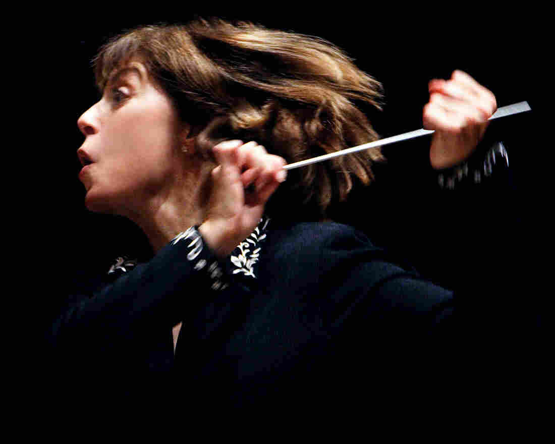 Conductor JoAnn Falletta.