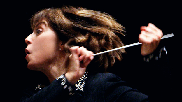 Conductor JoAnn Falletta. (courtesy of the artist)