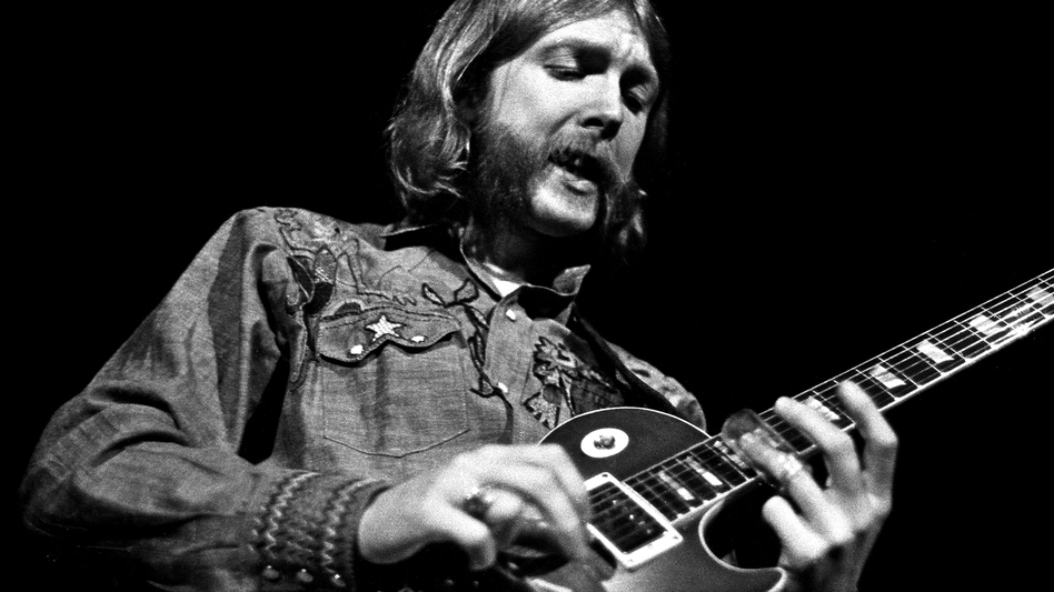 Duane Allman of The Allman Brothers Band lived to play music. A new box set, Skydog, collects the work he produced before his death in 1971. (Courtesy of the artist)