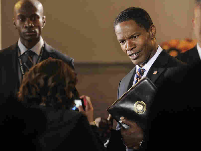 There have been more black Hollywood presidents — see Jamie Foxx, above — than there have been real-life black U.S. senators. WOMP.