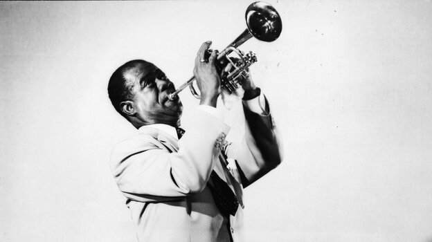 Louis Armstrong spoke out against the federal government regarding racial issues, but happily played the National Anthem at Newport in 1960.