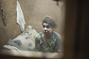 Lubov Bereznikova lives in a shack on the edge of a garbage dump with her partner, Alexandr Denisov, who was cured of tuberculosis by Sputnik. Bereznikova's son was also a Sputnik patient, but recently died of TB.