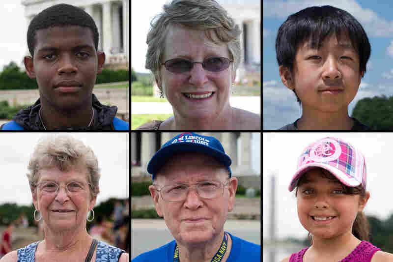 Row 1: Kevin Yarn, Durham, N.C.; Jeanne Greenwald, Kansas City, Mo.; Steven Lee, New York. Row 2: Marcia Hayes, Marshfield, Mass.; John McAvoy, Taylorville, Ill.; Isabel Gomez-Rengifo, Cali, Colombia.