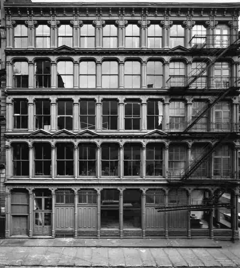 Donald Judd purchased his home on Spring Street in 1968 for $68,000. (101 Spring Street, New York, Exterior, 1972.)