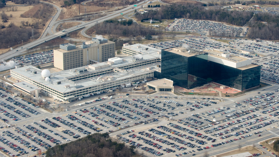 National Security Agency headquarters at Fort Meade, Md. (Saul Loeb/AFP/Getty Images)