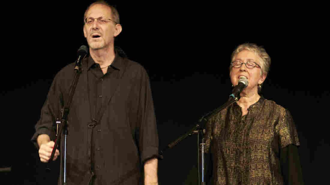 Michael Alpert and Ethel Raim perform as part of the An-sky Yiddish Heritage Ensemble.