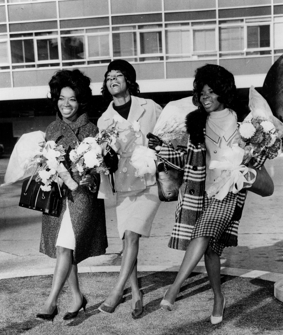 """In November 1964, Betty Kelly, Martha Reeves and Rosalind Ashford (aka Martha Reeves and the Vandellas) were at the top of the charts with their hit """"Dancing in the Street."""""""