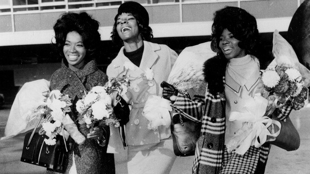"In November 1964, Betty Kelly, Martha Reeves and Rosalind Ashford (aka Martha Reeves and the Vandellas) were at the top of the charts with their hit ""Dancing in the Street."" (AP)"