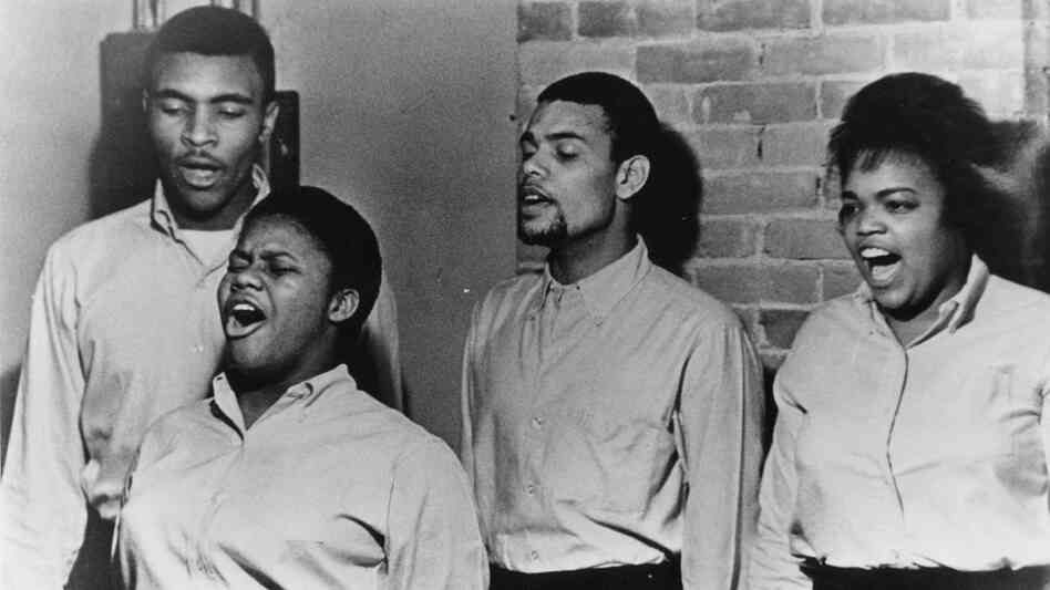 The Freedom Singers make several appearances in our mix of songs inspired by the civil rights movement — a collection that ranges from 1963 to the present day.