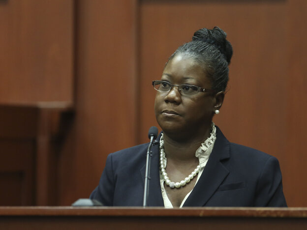 Trayvon Martin's mother, Sybrina Fulto