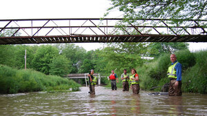 Research teams are monitoring 100 streams in the Midwest this summer.