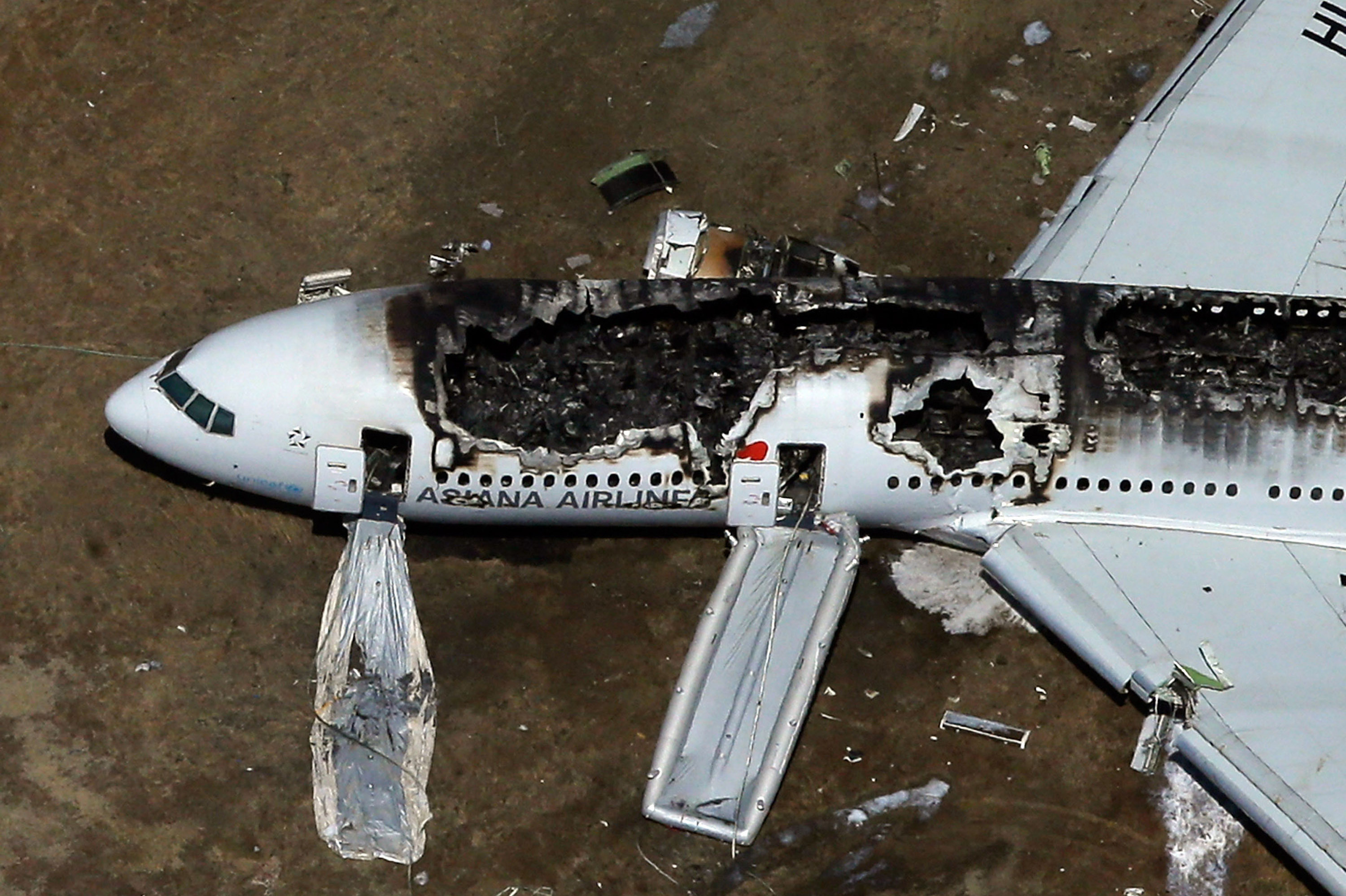 Asiana Airlines Flight 214 from Seoul, South Korea, crashed at San Francisco International Airport on Saturday. Two of the 307 people on board were confirmed dead.
