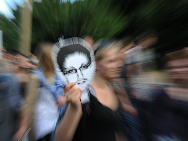 Former National Security Agency contractor Edward Snowden, who spilled secrets about the NSA's surveillance programs, has been condemned by U.S. officials. But he's been praised by some people around the world. In Berlin this