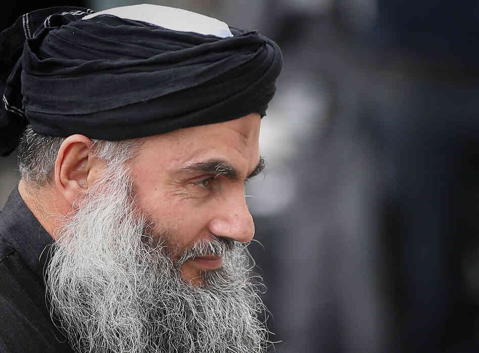 Muslim Cleric Abu Qatada arrives home after being released from prison in London o