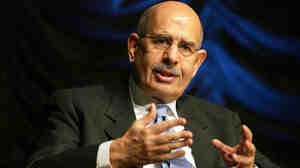State media and other sources had confirmed Saturday that Mohamed ElBaradei, the former head of the International Atomic Energy Agency, would be Egypt's interim prime minister. Later in the day, the president's spokesperson walked it back.