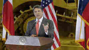Texas Gov. Rick Perry announces he will not seek re-election as governor, Monday in San Antonio.