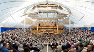 The Benedict Music Tent in Aspen.