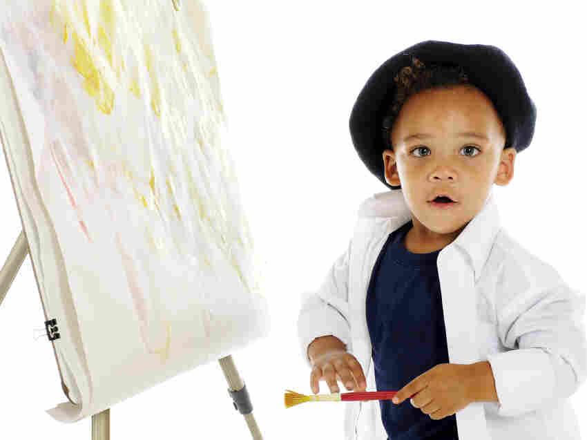 A preschool artist.