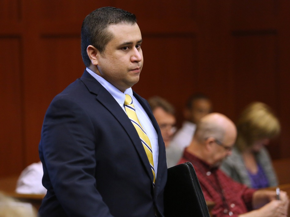 George Zimmerman in a Sanford, Fla., courtroom on Monday.