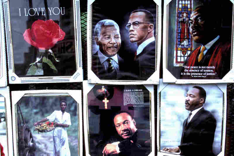 Posters at Mr. Toys, W. Madison Street and Cicero Avenue, Chicago, 1991