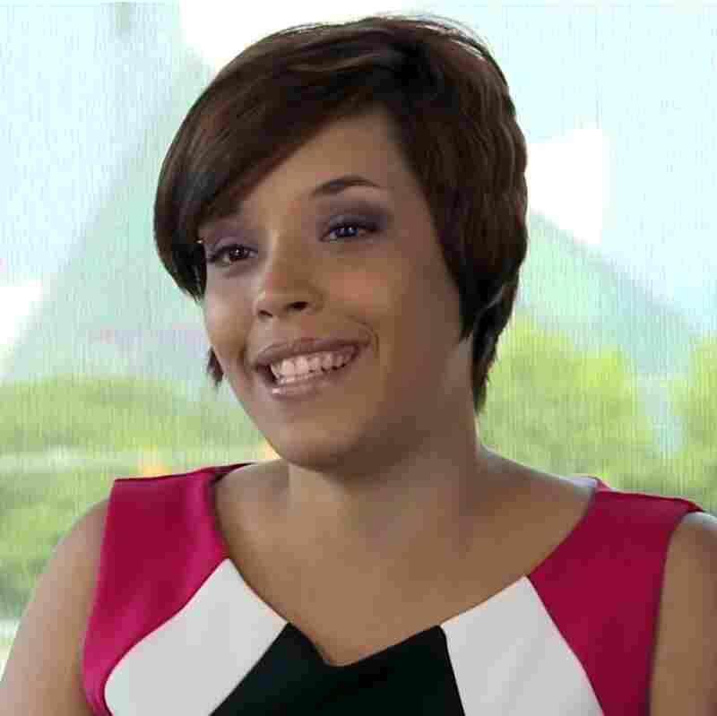 Gina DeJesus shown in YouTube video.