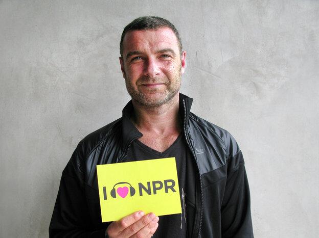 Liev Schreiber at NPR West.