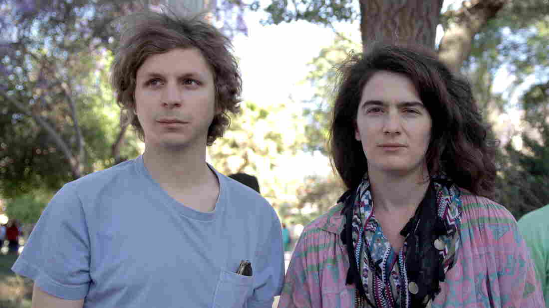 Jamie (Michael Cera) is a reflexively judgmental cynic whose drunken invitation locks him into a road trip with a stranger (Gaby Hoffmann), whose different take on life cracks his shell a little.