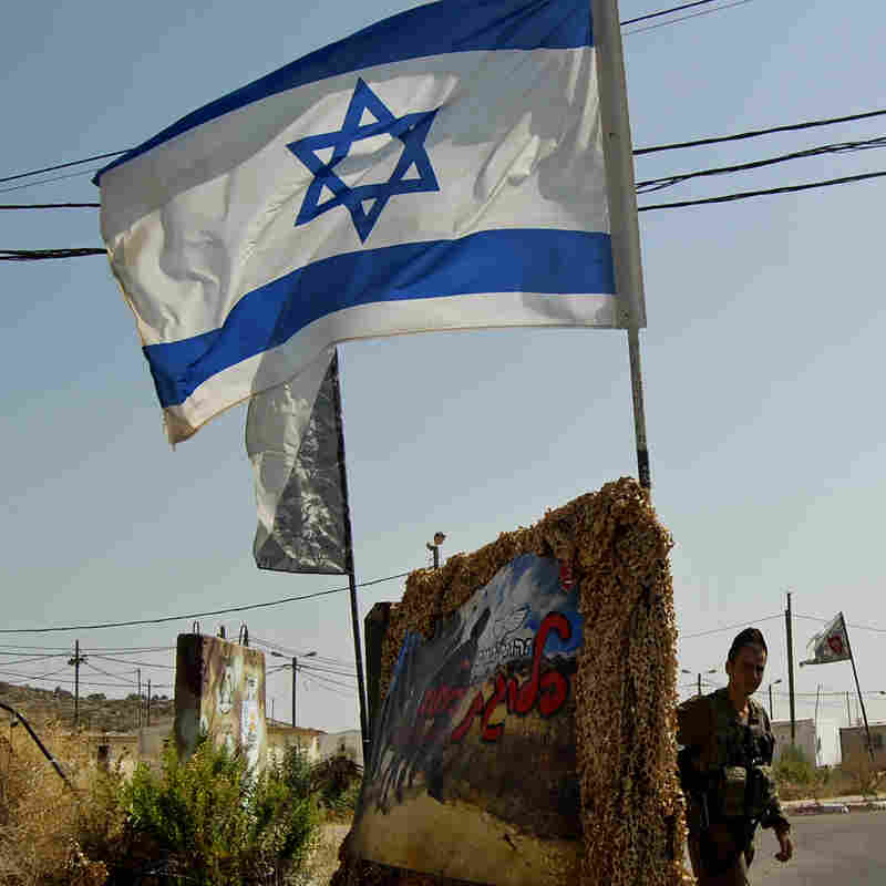 Soldiers close the gate to the tiny West Bank outpost, right next door to a Jewish settlement, where the HaHod platoon of the ultra-Orthodox Netzah Yahuda battalion is stationed.