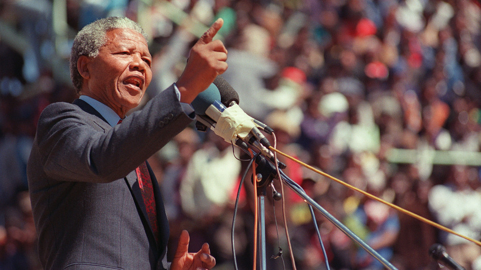 The former South African president Nelson Mandela has lived a life filled with rich musical associations. (AFP/Getty Images)
