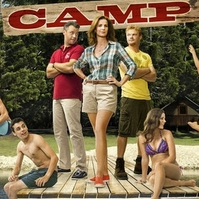 The promo art for NBC's Camp tells you all you need to know.