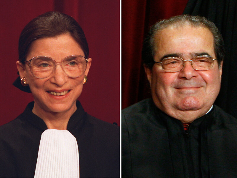 Scalia V. Ginsburg: Supreme Court Sparring, Put To Music : NPR