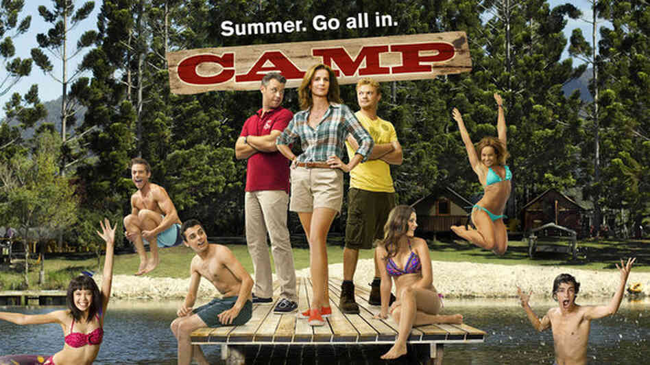 The promotional art for NBC's Camp tells you all you need to know.