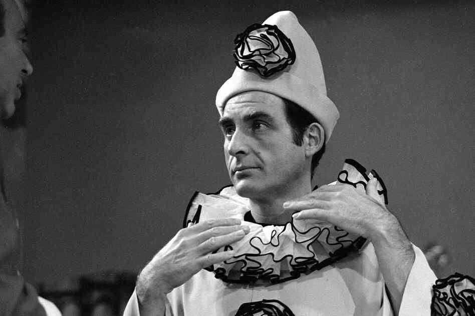 Caesar during rehearsal for the Sid Caesar, Imogene Coca, Carl Reiner and Howard Morris Special, on Dec. 10, 1966.