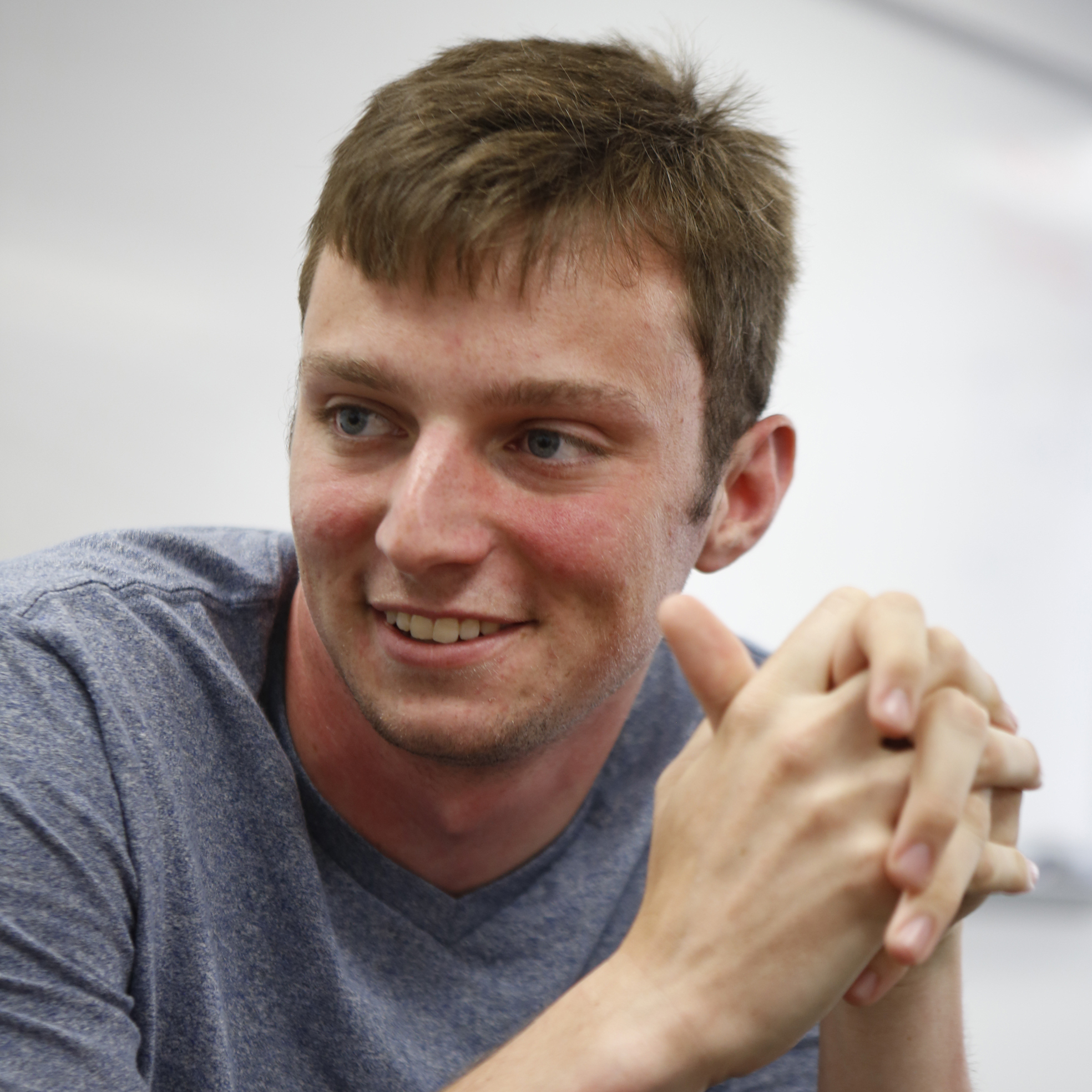 Nick Weadock just graduated from the University of Maryland and helped design the new battery.