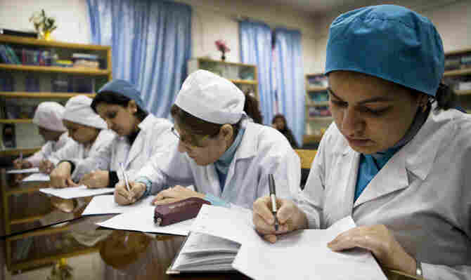 International Medical Corps has trained more than 2,000 midwives, including Afghans.