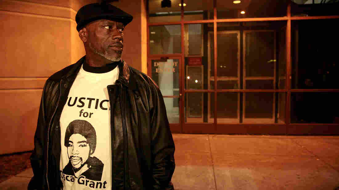 "Cephus ""Bobby"" Johnson in 2011, when the former transit officer who shot Johnson's nephew, Oscar Grant, was released from jail. Johnson and other family members have seen Fruitvale Station, a new feature film depicting the shooting, multiple times."