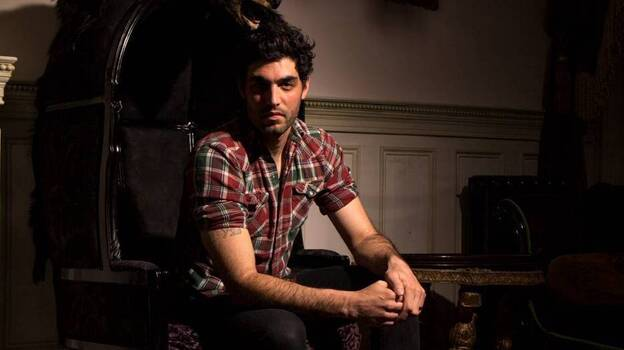 Daughn Gibson's latest album is called Me Moan. (Courtesy of the artist)