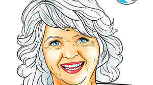"The cover of Bluewater Productions' upcoming ""Female Force: Paula Deen"" comic book."