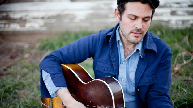 Gregory Alan Isakov's latest album is called The Weatherman.