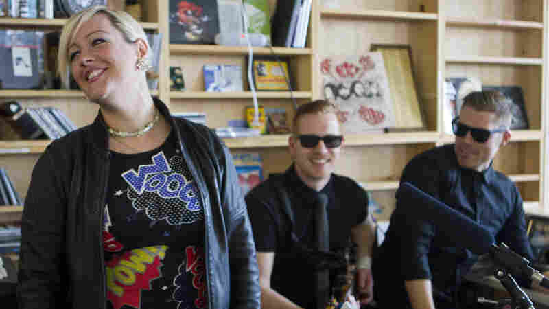 Alice Russell performs a Tiny Desk Concert on April 9, 2013.