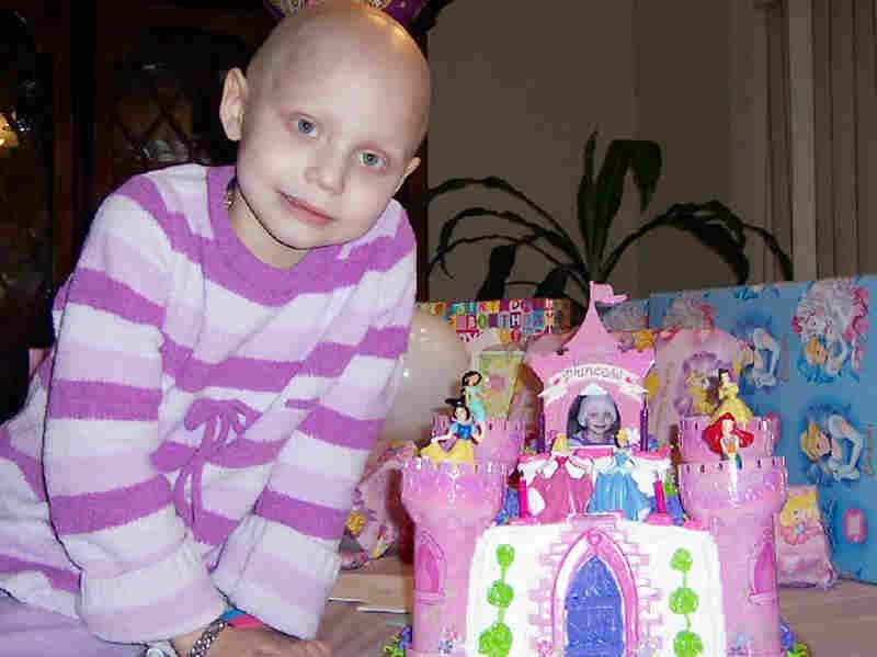 Faith in 2008, on her fifth birthday.