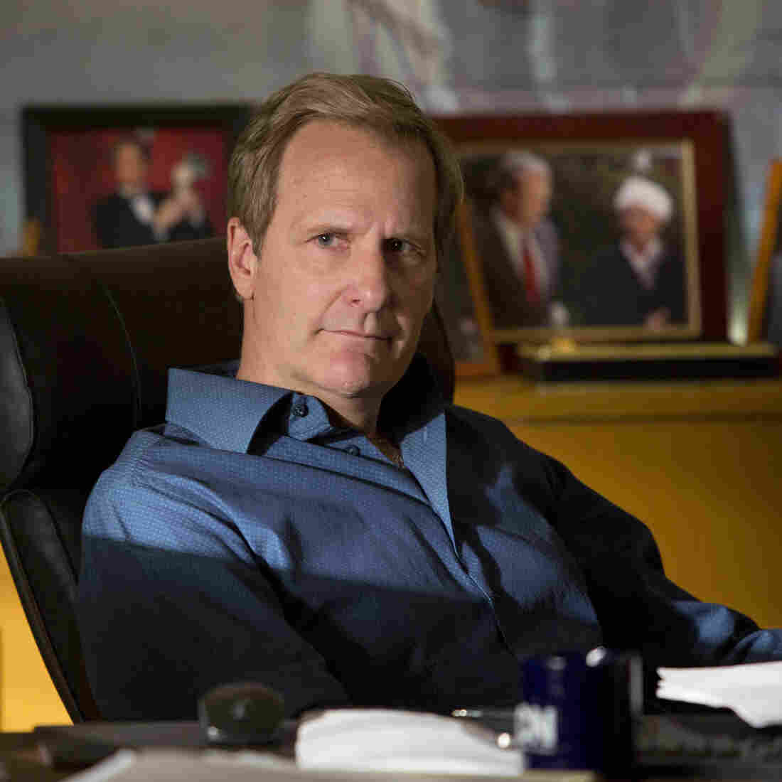 Back For More: Sorkin's 'Newsroom' Is A Serious Standout