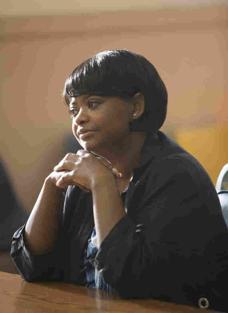 Academy Award-winning actress Octavia Spencer plays the mother of Oscar Grant in the film Fruitvale Station.
